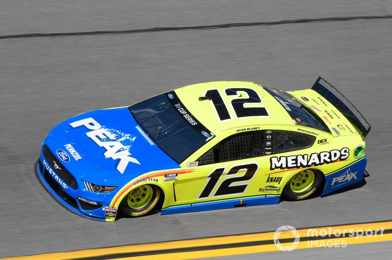 27. Ryan Blaney, Team Penske, Ford Mustang *