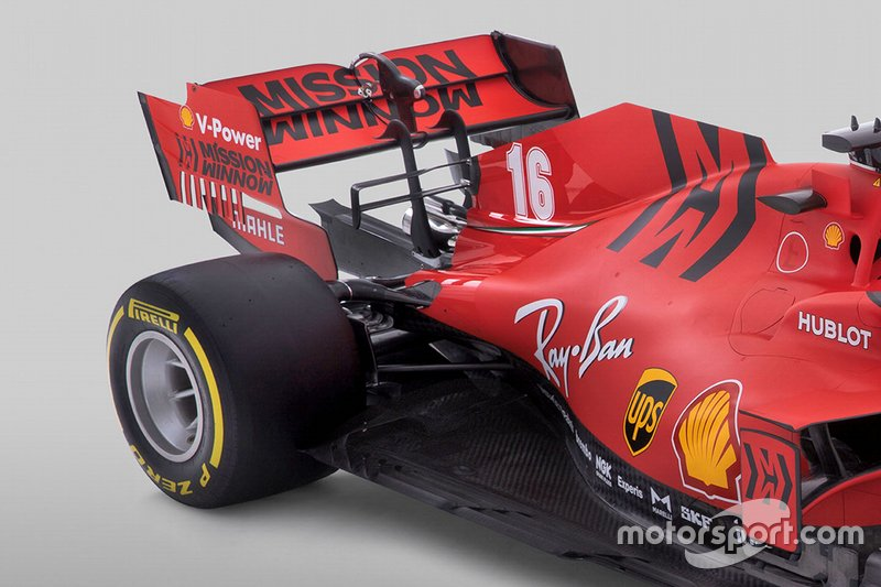 Ferrari SF1000, dettaglio tecnico