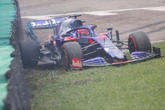 Incidente di Daniil Kvyat, Toro Rosso STR14