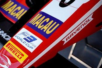 Nariz del coche de Frederik Vesti, SJM Theodore Racing by Prema