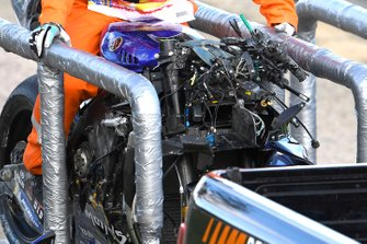 Valentino Rossi, Yamaha Factory Racing, crash