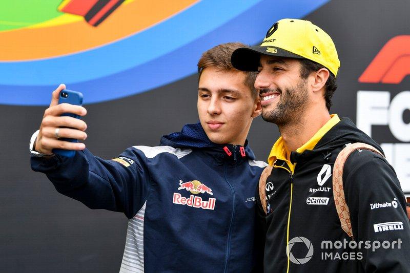 Daniel Ricciardo, Renault F1 Team Portrait