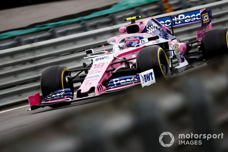 17: Lance Stroll, Racing Point RP19, 1'09.536