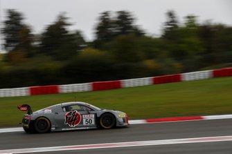 #50 Team équipe vitesse Audi R8 LMS: Michael Heimrich, Arno Klasen