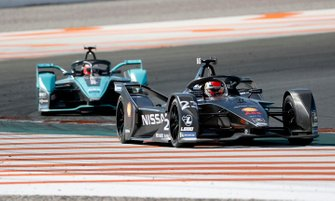 Sébastien Buemi, Nissan e.Dams, Nissan IMO2 Mitch Evans, Panasonic Jaguar Racing, Jaguar I-Type 4