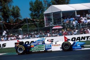 Gerhard Berger, Benetton B196