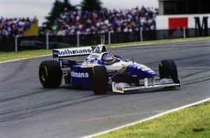 Jacques Villeneuve, Williams FW18, spin