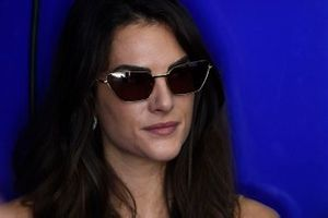 Francesca Sofia Novello, girlfriend of Valentino Rossi, Yamaha Factory Racing