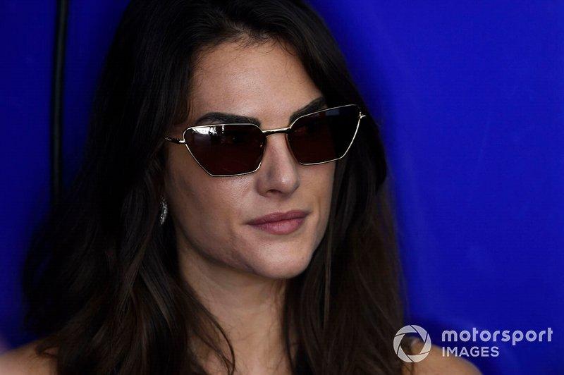 Франческа София Новелло, девушка гонщика Yamaha Factory Racing Валентино Росси