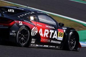 #55 ARTA Honda NSX GT3: Nirei Fukuzumi, Shinichi Takagi