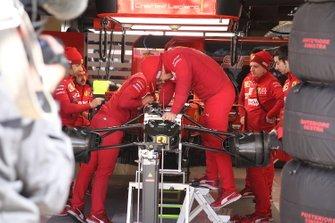 Передняя часть Ferrari SF90