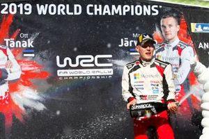 Champion Ott Tänak, Toyota Gazoo Racing