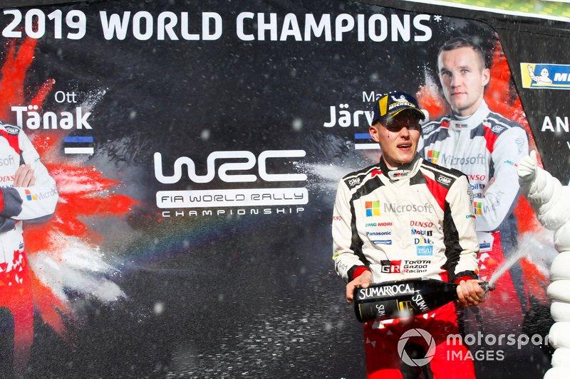 Чемпион мира 2019 года Отт Тянак, Toyota Gazoo Racing WRT