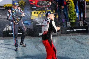 Ott Tänak, Toyota Gazoo Racing, Thierry Neuville, Hyundai Motorsport