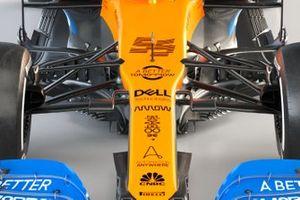McLaren MCL35 detail