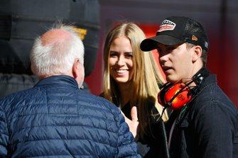 Норберт Феттель и Фабиан Феттель, отец и брат гонщика Ferrari Себастьяна Феттеля