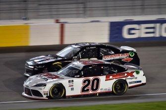 Harrison Burton, Joe Gibbs Racing, Toyota Supra Dex Imaging, J.J. Yeley, Means Motorsports, Chevrolet Camaro