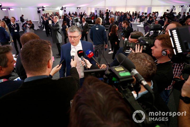 Otmar Szafnauer, Director y CEO, Racing Point y Andreas Weissenbacher, CEO, BWT