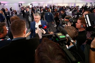 Otmar Szafnauer, Team Principal e CEO, Racing Point parla ai media