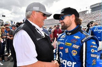 Ricky Stenhouse Jr., JTG Daugherty Racing, mit Rick Hendrick
