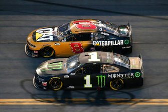 Kurt Busch, Chip Ganassi Racing, Chevrolet Camaro Monster Energy, Tyler Reddick, Richard Childress Racing, Chevrolet Caterpillar