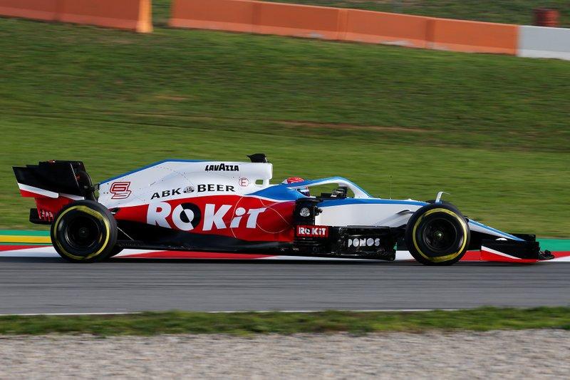 2020 : Williams-Mercedes FW43