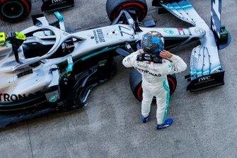 Valtteri Bottas, Mercedes AMG F12st in Parc Ferme