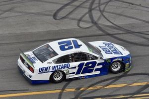 Race Winner Ryan Blaney, Team Penske, Ford Mustang