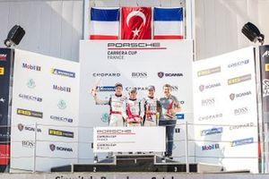 Podyum 1. yarış: Florian Latorre, RMS, Ayhancan Güven, Martinet by Alméras, CômeLedogar Team 85 / Bourgoin Racing
