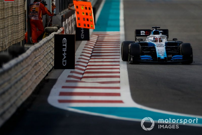 George Russell, Williams Racing FW42 (mañana)
