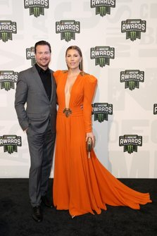 Kurt Busch and his wife Ashley