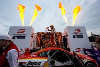 Scott McLaughlin, DJR Team Penske Ford celebrates