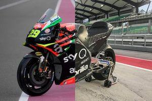 Comparativa Aprilia RS-GP 2019 vs 2020