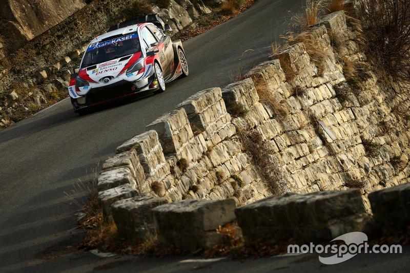 Kalle Rovanperä, Jonne Halttunen, Toyota Yaris WRC, Montecarlo 2020: 5º
