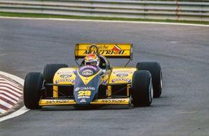 Pierluigi Martini, Minardi M/85 Motori Moderni, al GP del Giappone del 1985