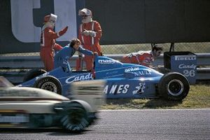Jacques Laffite, Ligier JS25 Renault, al GP d'Olanda del 1985