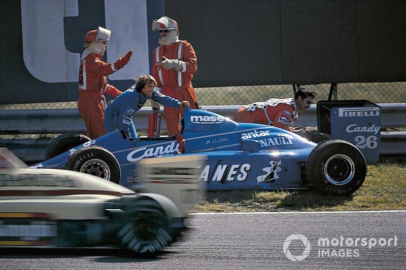 Jacques Laffite, Ligier JS25 Renault