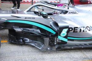 Mercedes AMG F1 W11 side