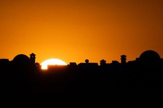 Sonnenaufgang in Marrakesh