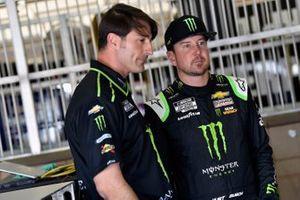 Kurt Busch, Chip Ganassi Racing, Chevrolet Camaro Monster Energy and Matt McCall