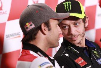 Johann Zarco, Team LCR Honda, Valentino Rossi, Yamaha Factory Racing