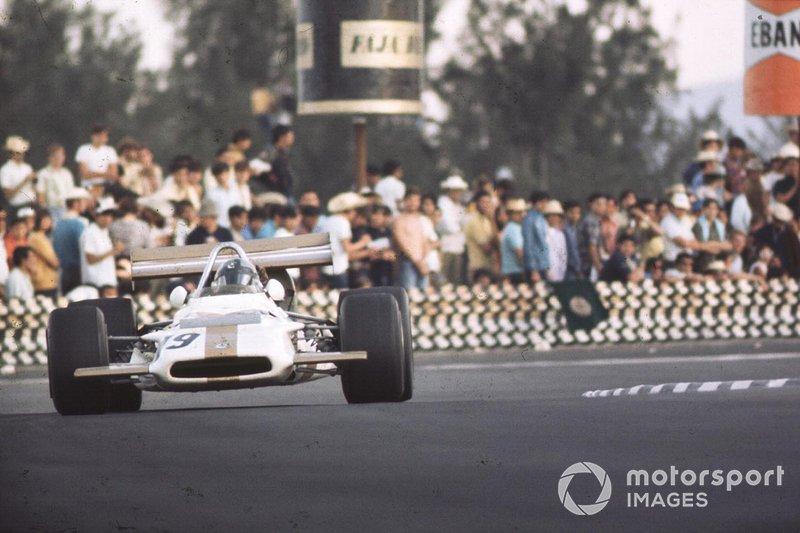 Pedro Rodriguez, Owen Racing Organisation, al GP del Messico del 1970