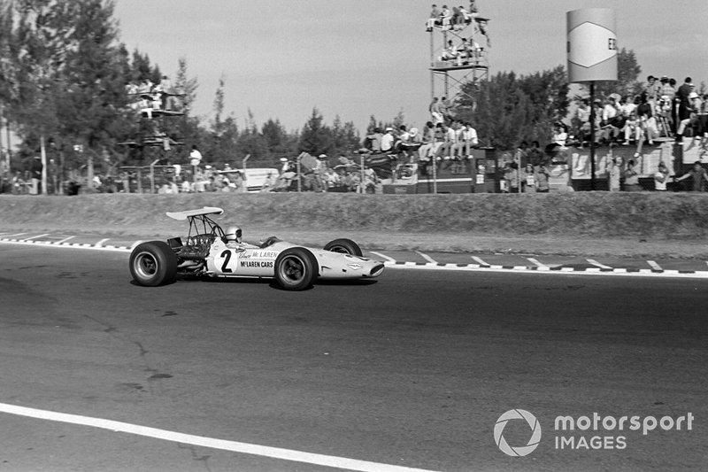 Bruce McLaren, McLaren, 1968 Mexico GP
