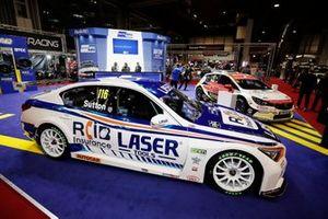 Ash Sutton and Jason Plato BTCC cars