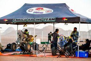 #267 Enrico Racing Team Yamaha: Giovanni Enrico, #268 Enrico Racing Team Yamaha: Italo Pedemonte