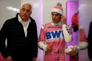 Lawrence Stroll, propietario de Racing Point y Lance Stroll, Racing Point