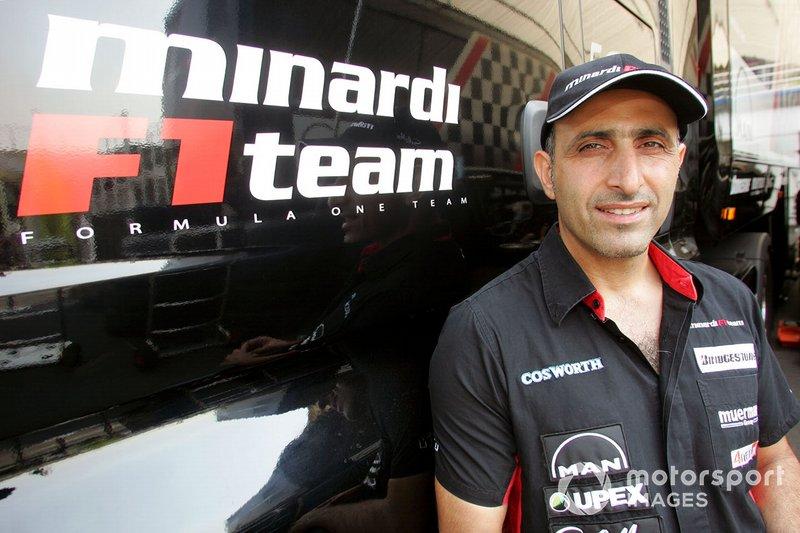 Chanoch Nissany (Minardi)