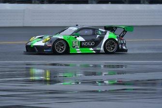 #54 BLACK SWAN RACING, Porsche 911 GT3 R, GTD: Jeroen Bleekemolen, Sven Muller, Trenton Estep, Tim Pappas