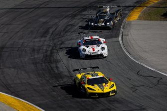 #3 Corvette Racing Corvette C8.R, GTLM: Antonio Garcia, Jordan Taylor, Nicky Catsburg, #912 Porsche GT Team Porsche 911 RSR - 19, GTLM: Laurens Vanthoor, Earl Bamber, Mathieu Jaminet