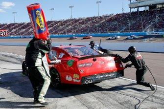 BJ McLeod, JD Motorsports, Chevrolet Camaro TeamJDMotorsports.com pit stop